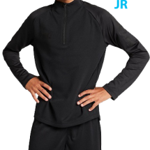 Nike squad trainingstop met korte rits JR (BQ3764-013)