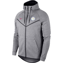 Manchester city tech fleece jack (AA1930-095)